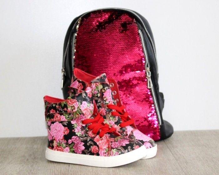 Демисезонная обувь для девочки, детские высокие кеды, ботинки деми для девочки, обувь детская Запорожье