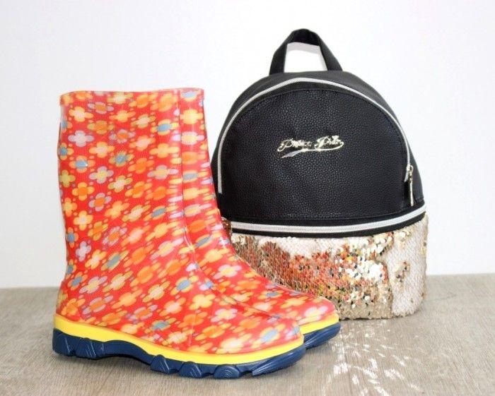 Силиконовая детская обувь, резиновые сапоги Украина, силиконовые сапоги Запорожье купить