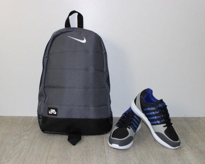 Купить Серый рюкзак Nike недорого Украина, сумки, рюкзаки, клатчи