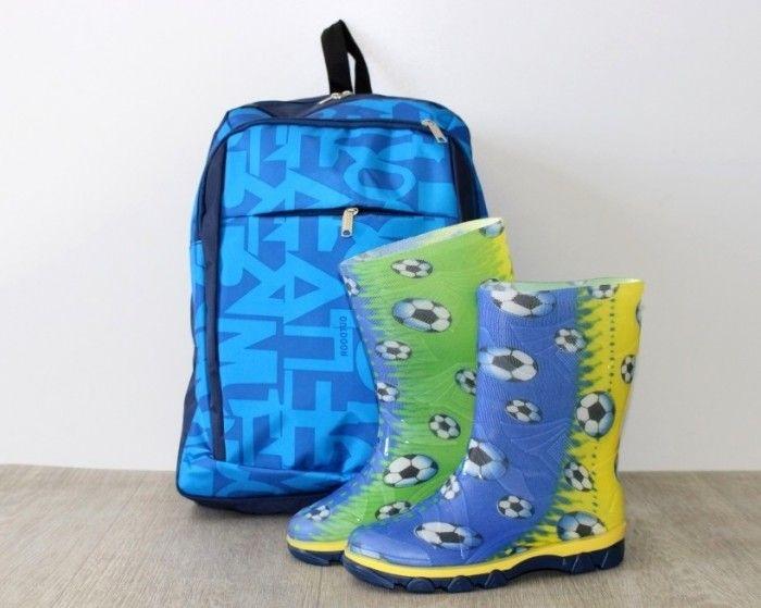 Купить детские резиновые сапоги для мальчика в интернет магазине