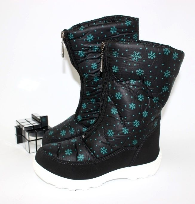 Зиняя обувь для девочек, детские дутики купить, купить детские зимние сапоги Запорожье