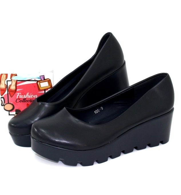 Недорогая женская обувь, туфли на танкетке в Запорожье