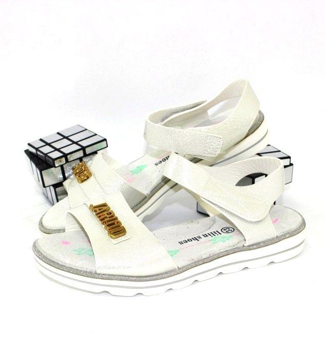 купити літні босоніжки білі дешево недорого річна дитяче взуття