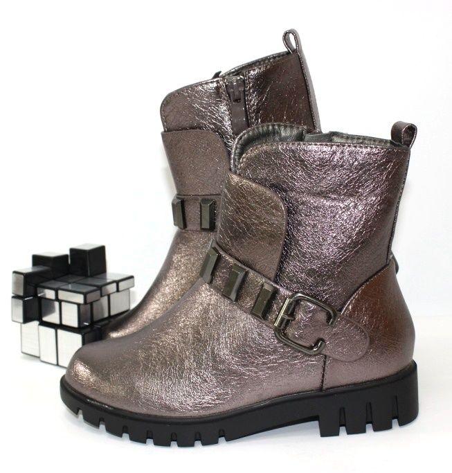 Ботинки для девочек деми 110-1 - ботинки для девочек демисезон, детская обувь интернет магазин, обувь детская скидки, осенняя обувь