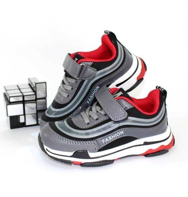 Качественные стильные кроссовки 117-9 - в интернет магазине детских кроссовок для мальчиков
