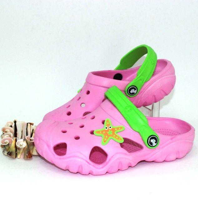 Крокси для дівчинки 117082C - купити в інтернет магазині в Запоріжжі, Дніпрі, Харкові