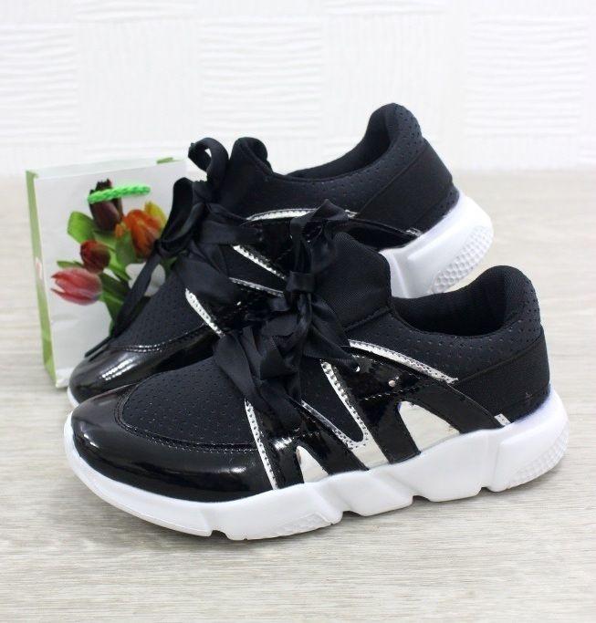 чёрные кроссовки для девочек