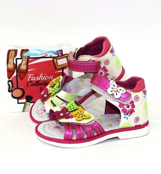 купити дитячі босоніжки на дівчинку недорого низька ціна в інтернет-магазині дитяча літнє взуття