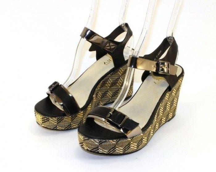 купить женские босоножки недорого на танкетке в интернет магазине летняя женская обувь