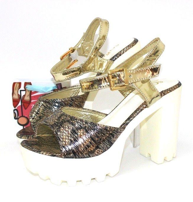 купить босоножки на тракторной подошве, женские босоножки на каблуке, модные босоножки Украина