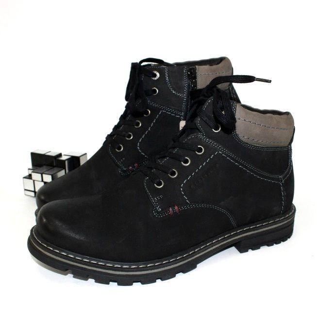 Ботинки зимние мужские Запорожье, купить мужские зимние ботинки Украина, зимняя мужская обувь