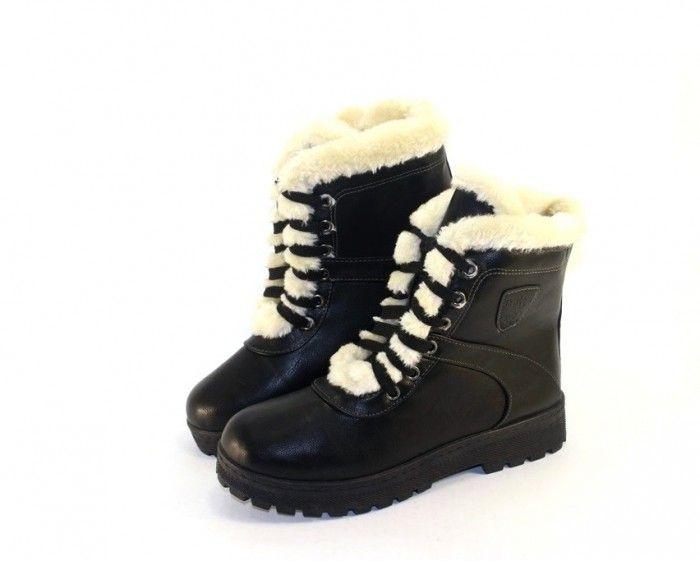 Ботинки женские с опушкой, купить женские ботинки, женские зимние ботинки Запорожье