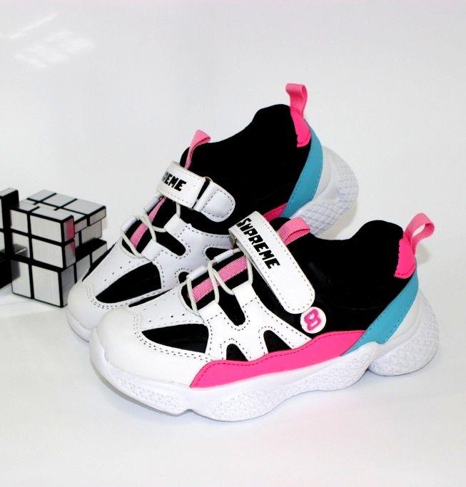 Классные модные кроссовки 200-46 - купить девочкам для школы