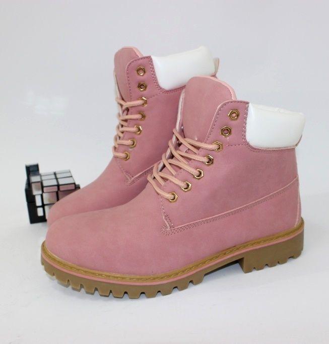 Розовые зимние ботинки комфорт 2004 pink - купить зимнюю обувь