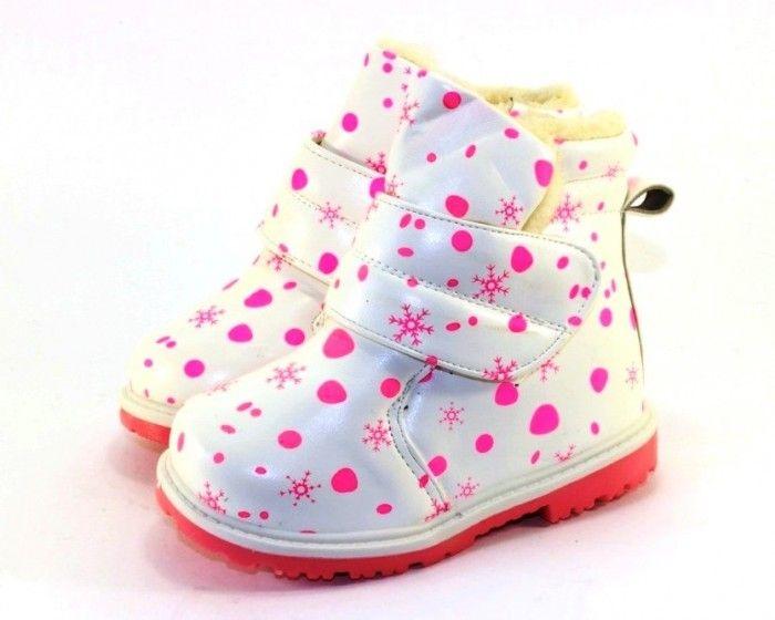 Детские зимние ботинки Запорожье, купить зимнюю обувь недорого, обувь для девочки зимняя