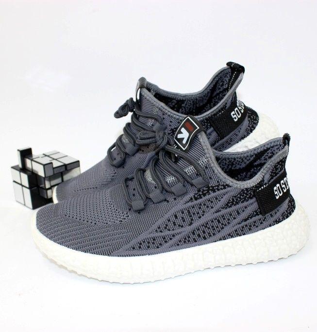Чоловічі чорно-сині кросівки недорого, купити спортивне взуття в Запоріжжі, інтернет магазин чоловічого взуття