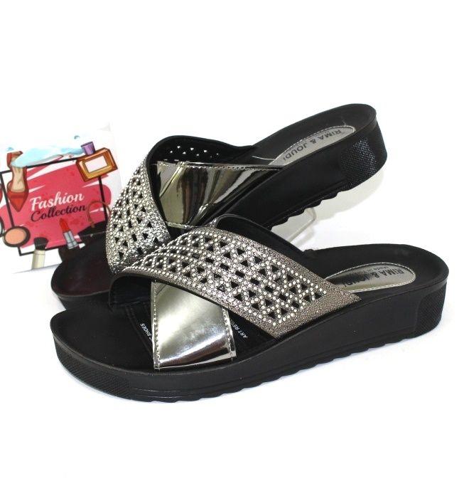 Жіноче взуття великих розмірів недорого в сандалях, жіноча пляжне взуття, купити шльопанці
