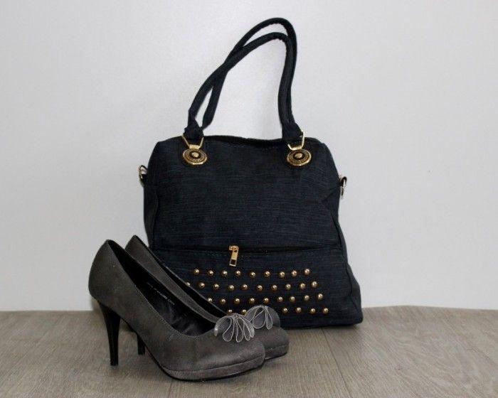6724ec3acf8b Купить Сумка женская 233 black недорого Украина, сумки, рюкзаки, клатчи