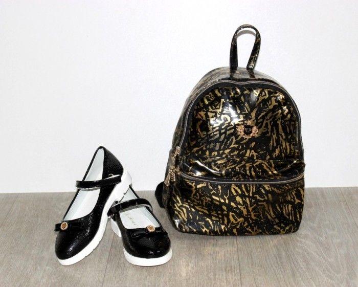 Купити туфлі шкільні для дівчинки, туфлі для дівчинки недорого Запоріжжя, дитяче взуття Сандаль