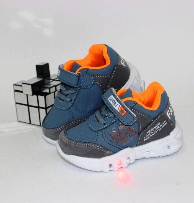 Детские кроссовки с подсветкой для мальчиков и девочек дешево!