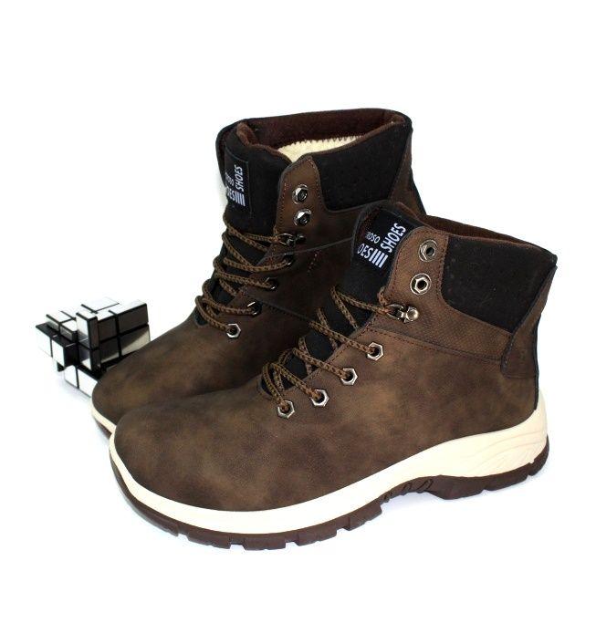 Чоловічі зимові черевики Запоріжжя, купити чоловічу зимове взуття, черевики чоловічі Україна