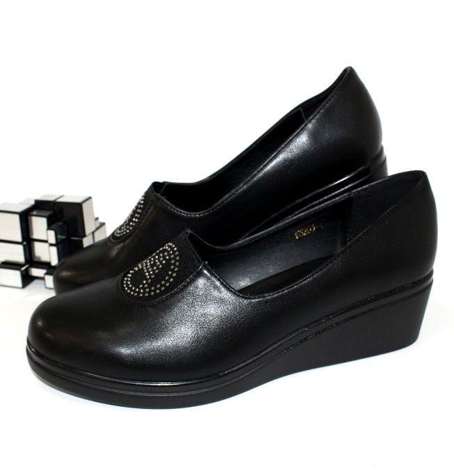 Туфли женские F3205-1-black - женская обувь недорого, туфли женские скидки