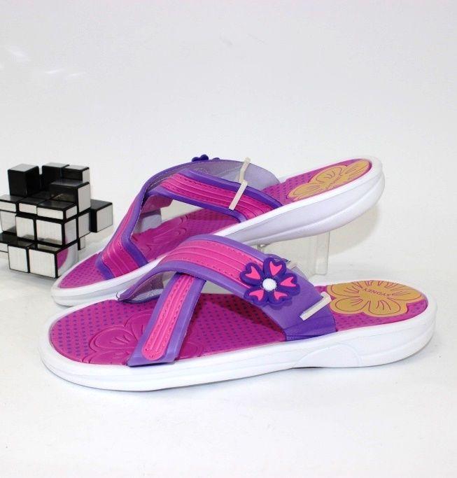 Шлёпанцы женские 355-26-mix фиолет.розов - купить с доставкой по низким ценам