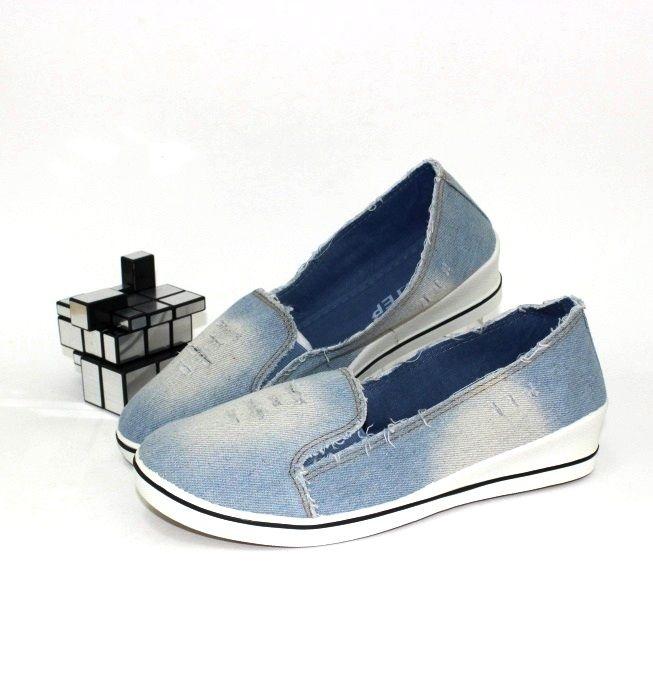 Найзручніша спортивне взуття сліпони джинс в магазині Сандаль