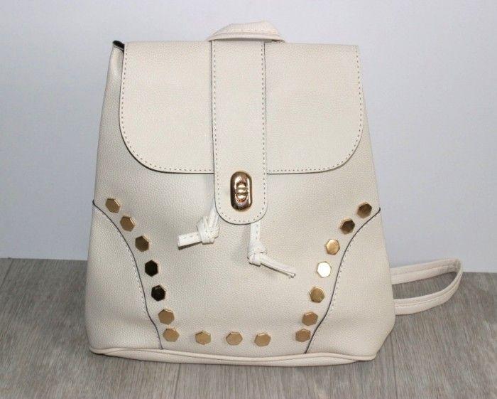 Купить Рюкзак женский 365-beige недорого Украина, сумки, рюкзаки, клатчи