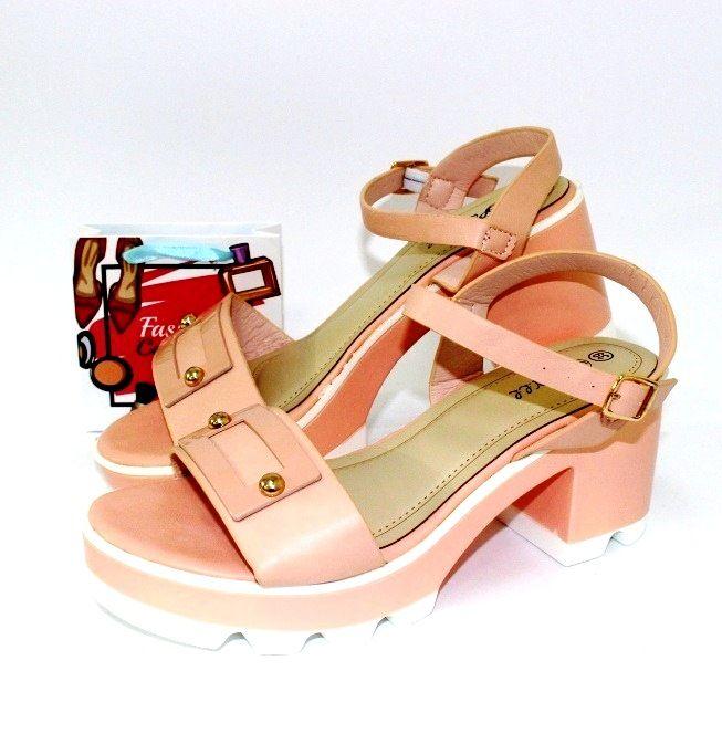 купить летние босоножки на белой платформе модные недорого летняя женская обувь