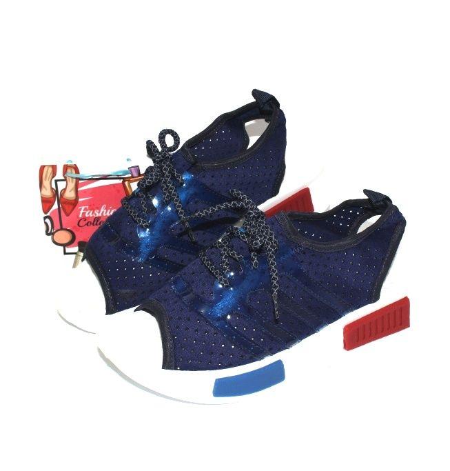 Босоножки женские 422 blue дёшево, распродажа летней обуви, летняя обувь, обувь дропшиппинг