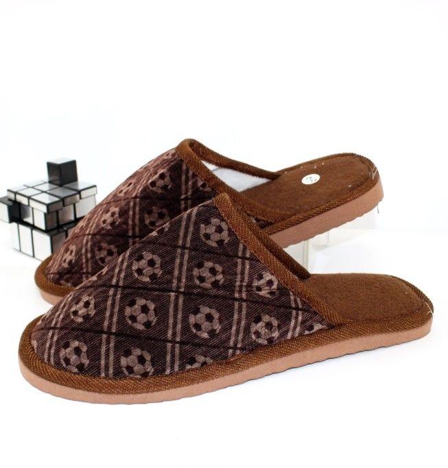 Купить Мужские тапочки Fashion 511-коричневые. Для него - СанДаль
