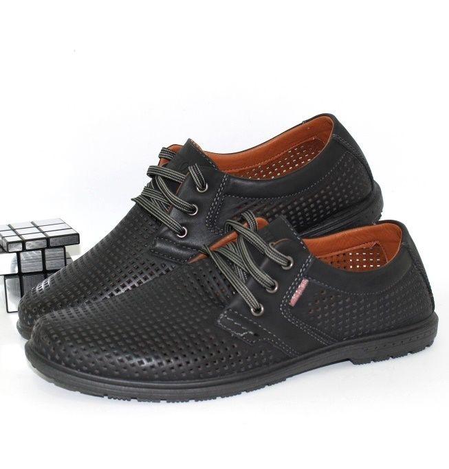 Летние комфортные туфли 5432-1 - купить мужские туфли в интернет-магазине в Запорожье, Одессе, Харькове.