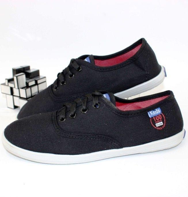 Кеды текстильные 64-11-black - в интернет магазине детских кроссовок для подростков
