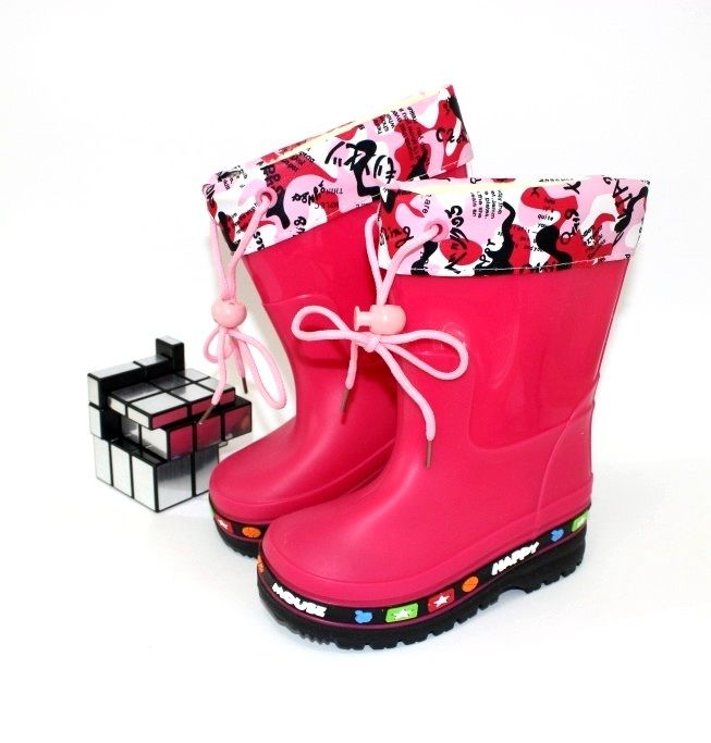 Купить детские резиновые сапоги для девочек и мальчиков!