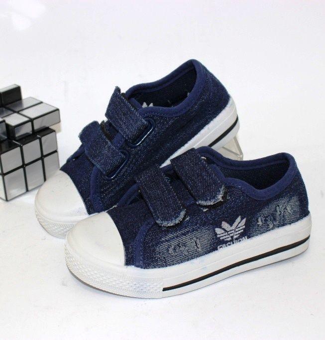 Дитячі джинсові кеди 737 - в інтернет магазині дитячих кросівок для хлопчиків