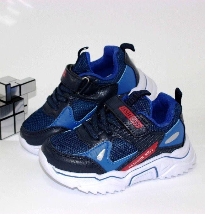 Кроссовки для мальчика липучка 7526-A - в интернет магазине детских кроссовок для мальчиков