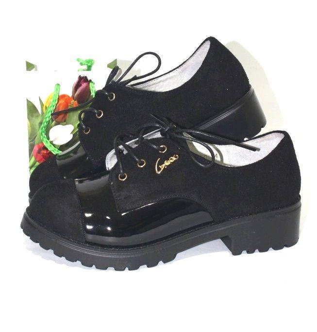 Удобные туфельки на низком каблуке