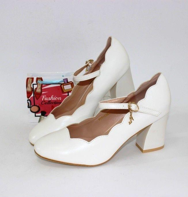 Купити жіночі білі туфлі, весільні туфлі, весільне взуття Україна