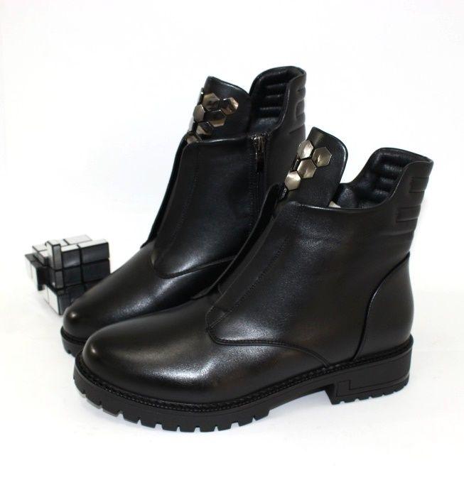 Комфортыне стильные ботинки 80-34 - купить зимнюю обувь