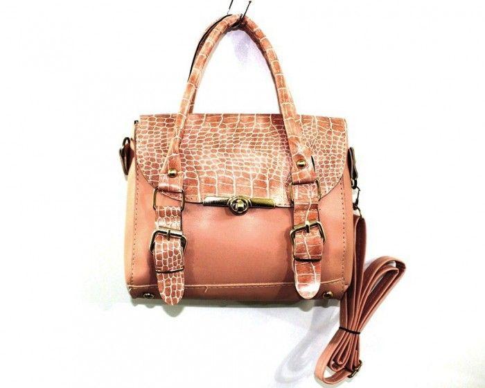 Купить Небольшая женская сумка 803-pink недорого Украина, сумки, рюкзаки, клатчи