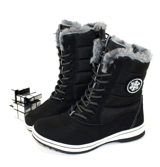 Комфортные женские ботинки 8312-1 - купить зимнюю обувь