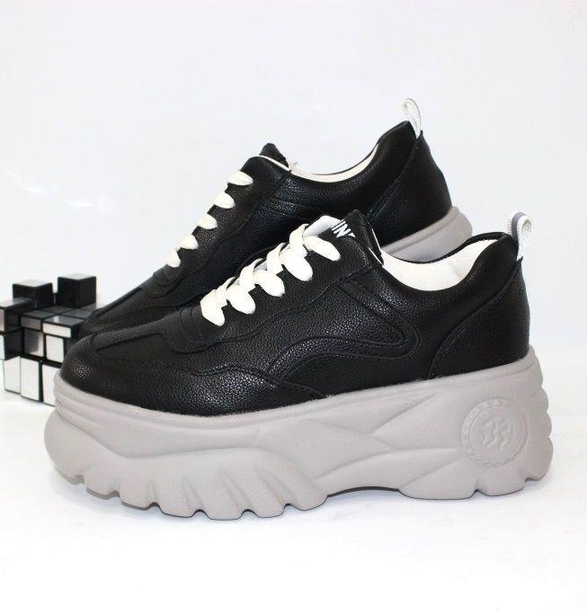 Криперы кроссовки женские на высокой платформе