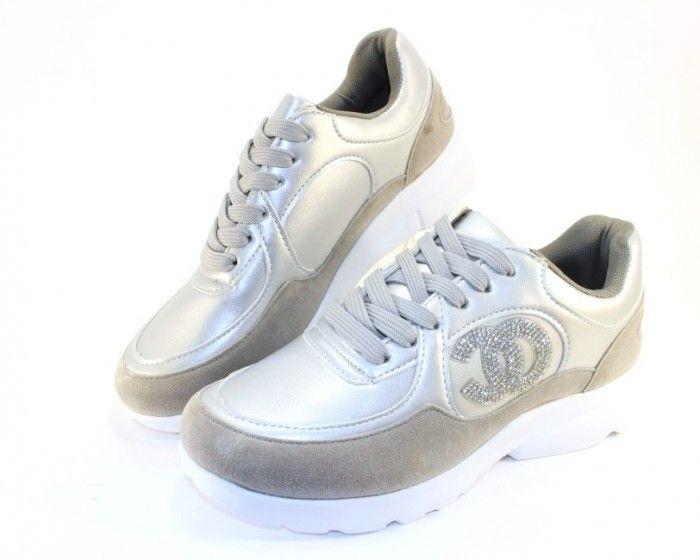 db2f4515 Модные кроссовки 899-silver - купить в интернет магазине в Запорожье,  Днепре, Харькове