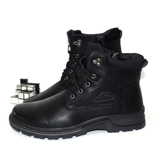 Ботинки мужские зимние баталы молния шнурок заказать с доставкой