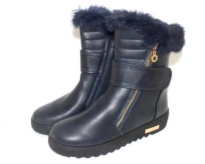 Удобные и стильные зимние ботинки 9333-2 - купить зимнюю обувь