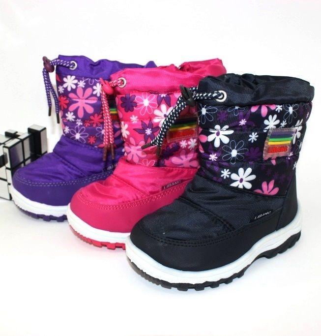 Дитячі зимові чобітки для дівчинки купити в інтернет магазині сандаль