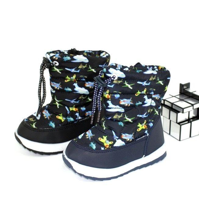 Дутики для мальчика купить, купить детские дутики Запорожье, обувь зима Украина