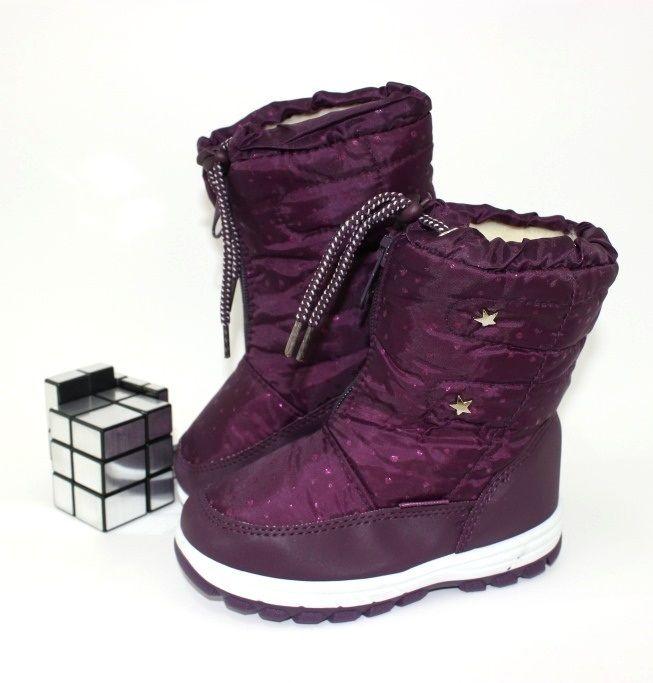 Купить сапоги для девочки, зимняя обувь для девочек, детская термообувь Украина, купить детские дутики