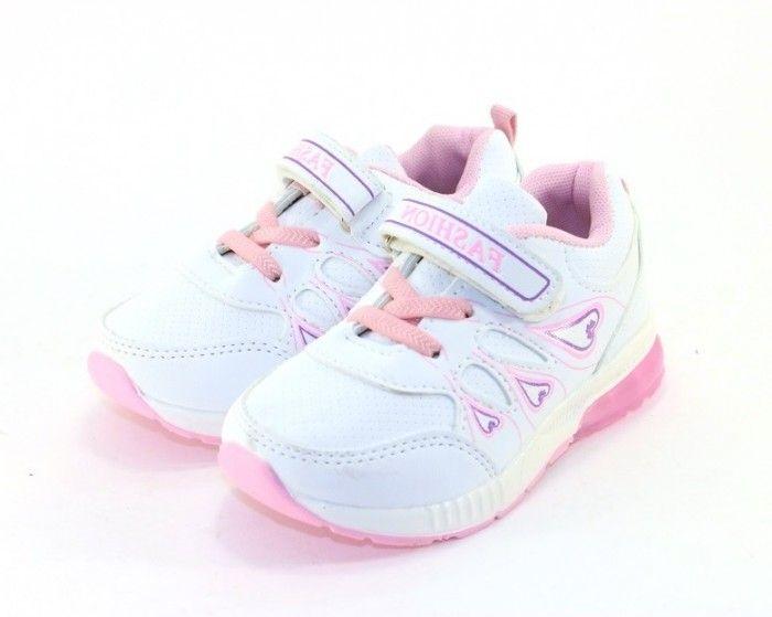 Купить детские кроссовки и кеды 5001-6 белый ( TOM.M), купить кеды детские для девочки в интернет-магазине Сандаль